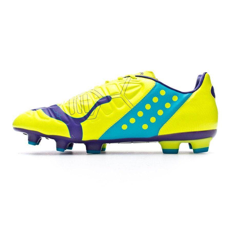 Best Puma evoPOWER Vigor 1 SG FG Blue Football Boots | Botas