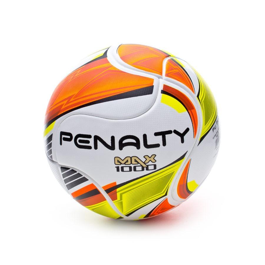 62d1146219e89 Ball Penalty Sala Max 1000 White-Orange-Yellow - Football store ...