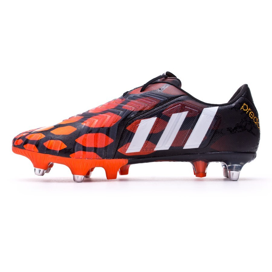 f799c4690fa5 Football Boots adidas Predator Instinct XTRX SG Black-White-Solar red -  Football store Fútbol Emotion