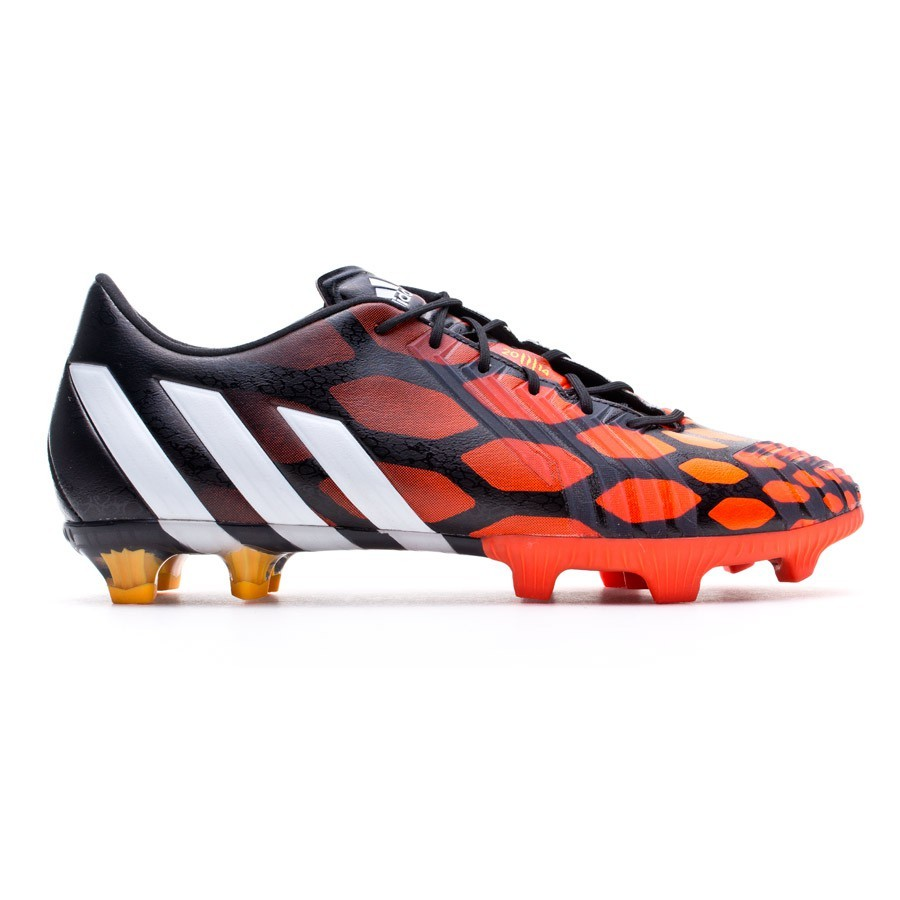 Cabaña celebrar Conversacional  Football Boots adidas Predator Instinct FG Black-White-Solar red - Football  store Fútbol Emotion