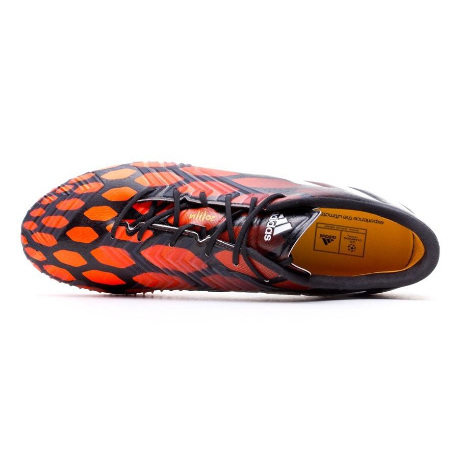 Football Boots adidas Predator Instinct FG Black White Solar