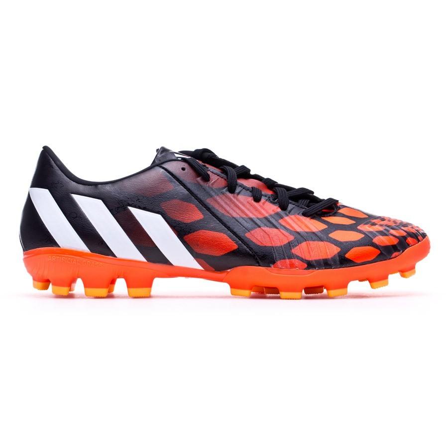 2ce448bd8c93f Zapatos de fútbol adidas Predator Absolion Instinct AG Negra-Blanca-Solar  red - Tienda de fútbol Fútbol Emotion