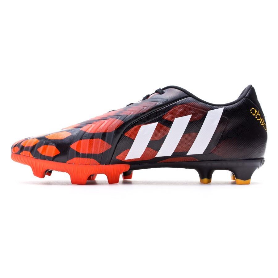 Bota de fútbol adidas Predator Absolion Instinct FG Negra-Blanca-Solar red  - Soloporteros es ahora Fútbol Emotion 01208abc0f921