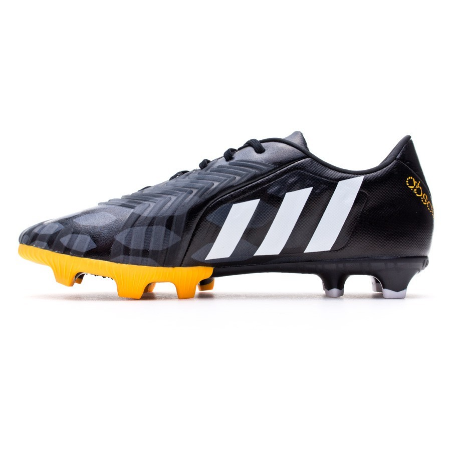 b521ed06666d1 Zapatos de fútbol adidas Predator Absolion Instinct FG Negra-Blanca-Solar  gold - Tienda de fútbol Fútbol Emotion