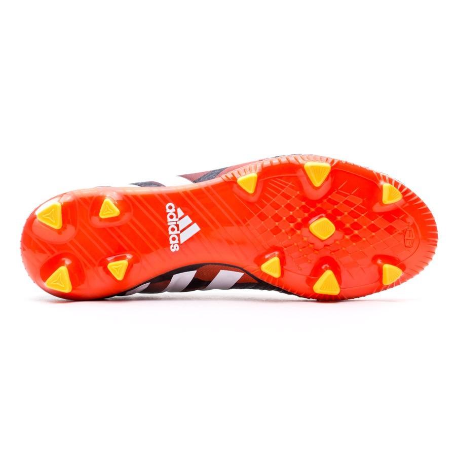Zapatos de fútbol adidas Predator Absolado Instinct FG Negra-Blanca ... dafdf375e134b