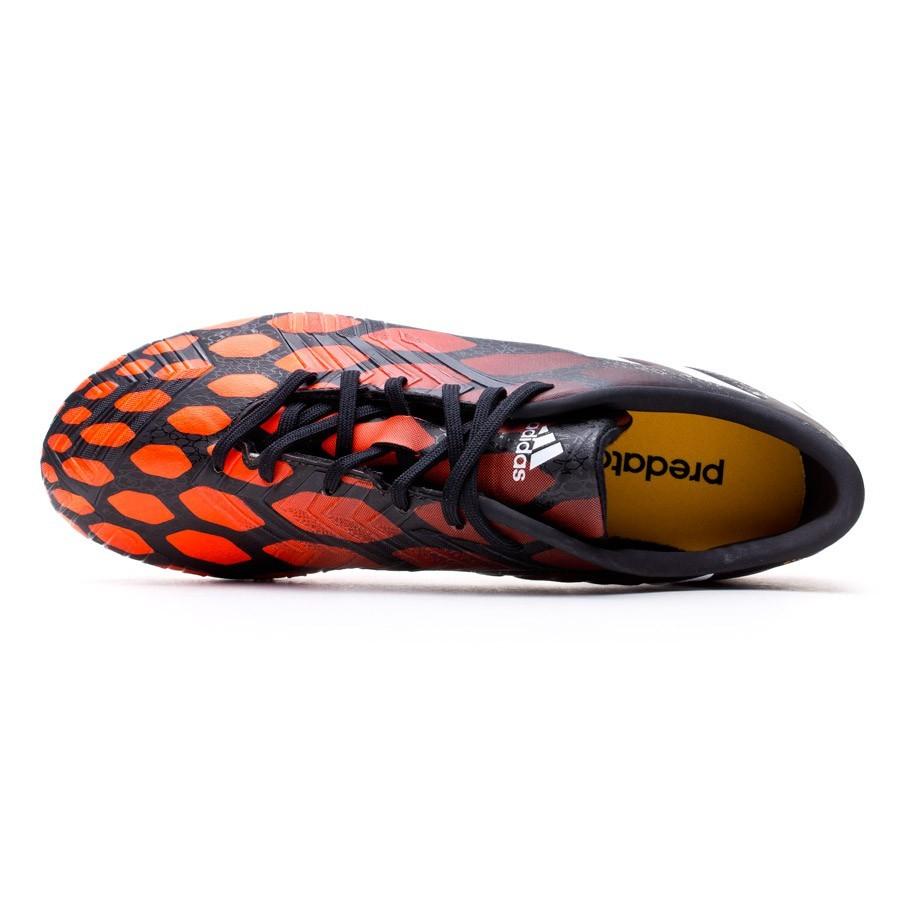 tarifa Poder dramático  Football Boots adidas Predator Absolado Instinct FG Black-White-Solar red -  Football store Fútbol Emotion