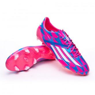 adizero F50 TRX FG Solar pink-Blanc-Solar blue