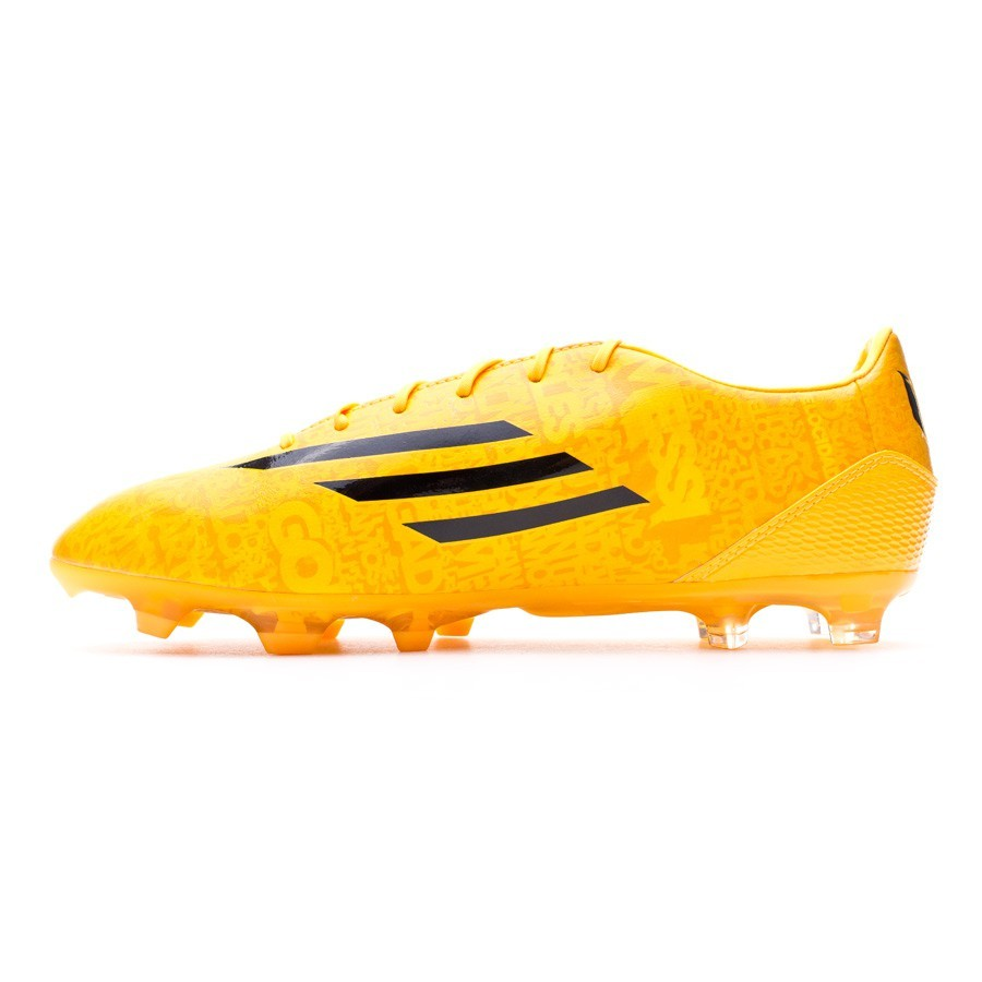 low priced b24a7 30d73 Boot adidas F30 FG Messi Solar gold-Black - Football store Fútbol Emotion