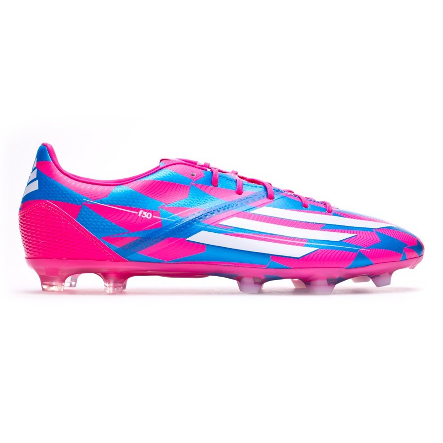 ae92c8deb Football Boots adidas F30 TRX FG Solar pink-White-Solar blue - Football  store Fútbol Emotion
