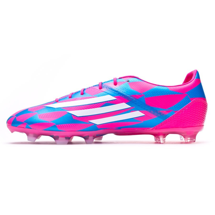 new product 7ffb4 d637f Boot adidas F30 TRX FG Solar pink-White-Solar blue - Football store Fútbol  Emotion