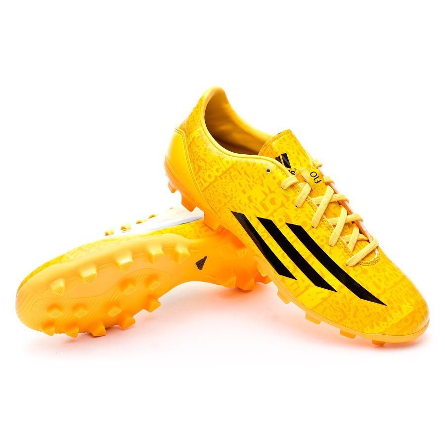 pretty nice cf161 345d5 adidas F10 TRX AG Messi Boot. Solar gold-Black ...