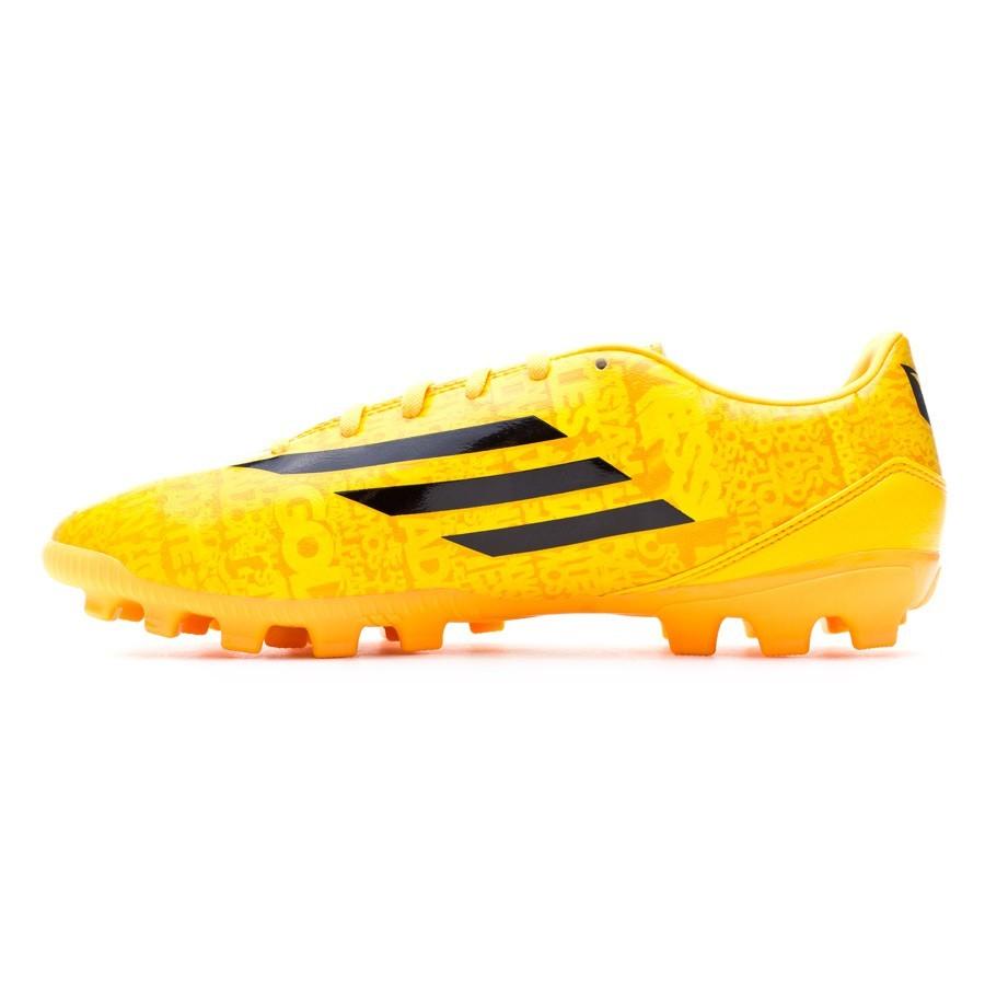 info for 78519 e9280 Boot adidas F10 TRX AG Messi Solar gold-Black - Soloporteros es ahora  Fútbol Emotion