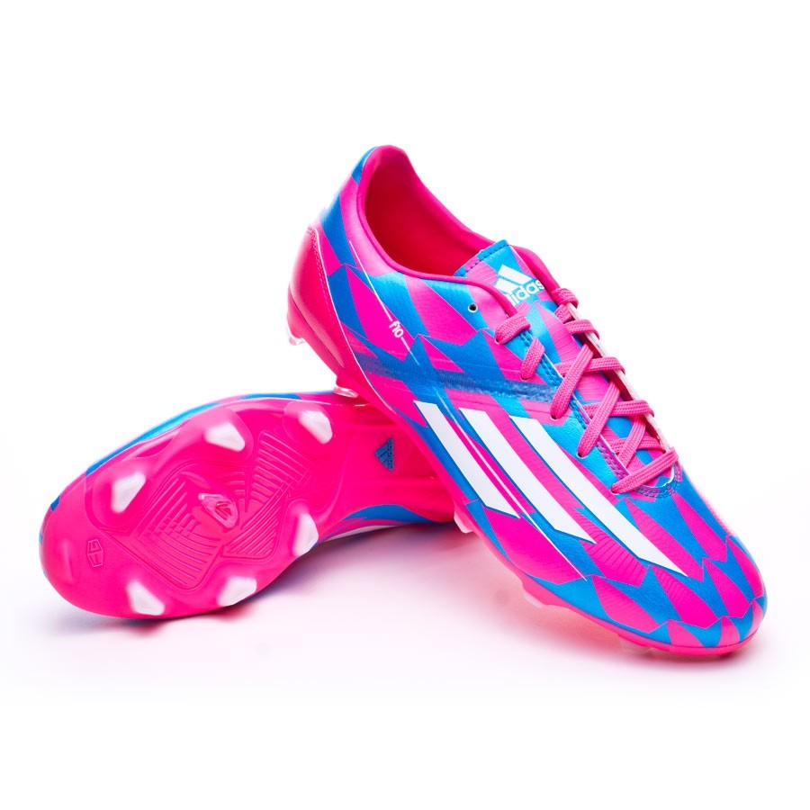 competitive price 47699 f0d5f Boot adidas F10 TRX FG Solar pink-White-Solar blue - Football store Fútbol  Emotion