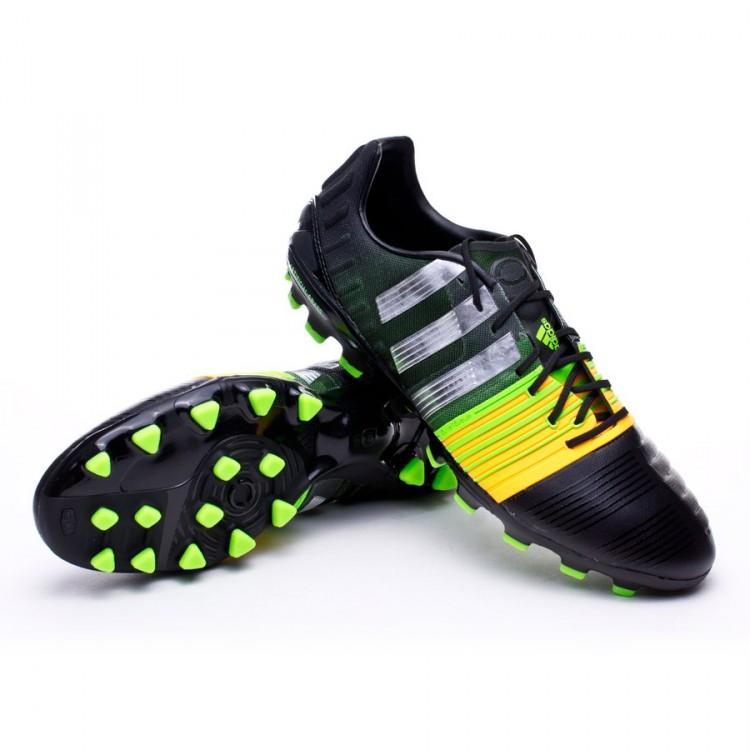 the latest 23d50 fd547 bota-adidas-nitrocharge-1.0-trx-ag-negra-silver-