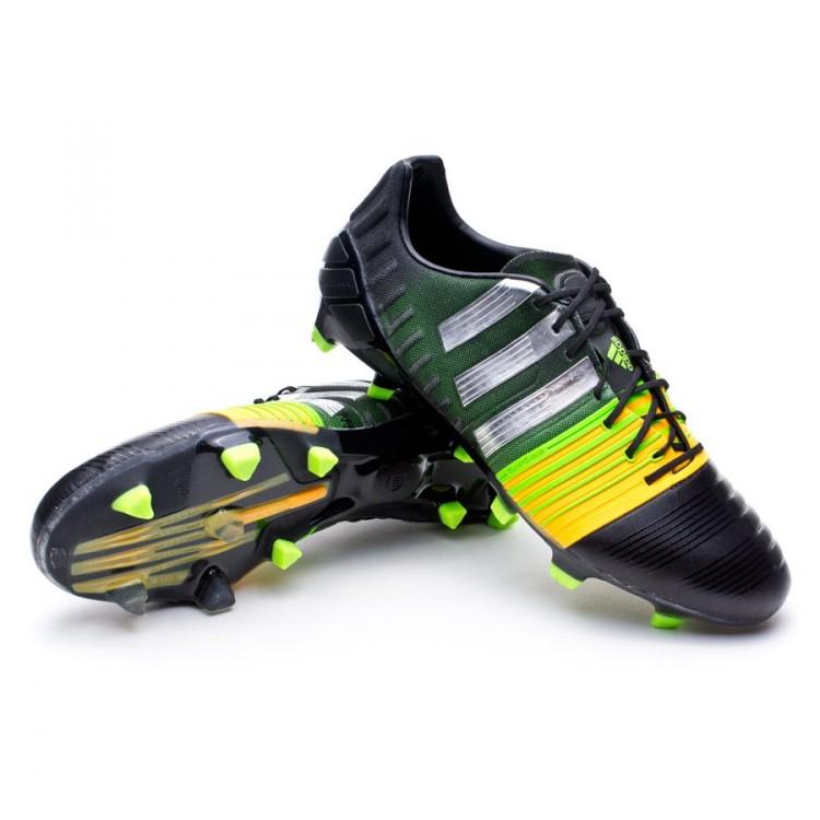 cheaper a31c2 54d7e bota-adidas-nitrocharge-1.0-trx-fg-negra-silver-