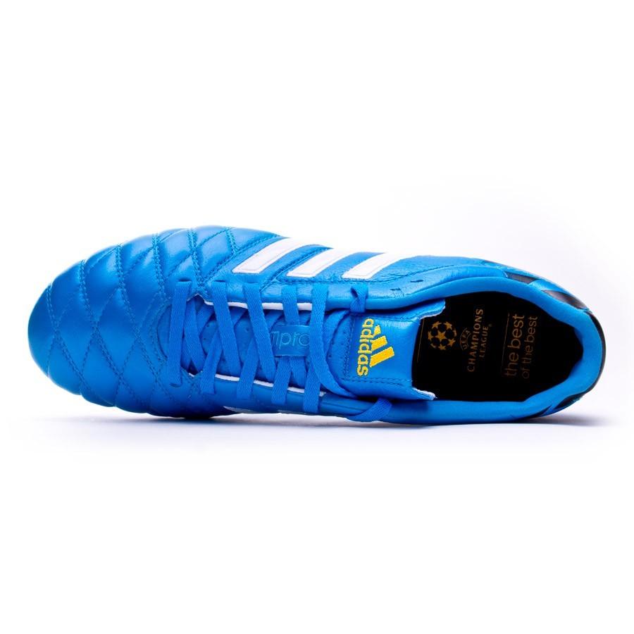 huge discount b2168 21ca2 Zapatos de fútbol adidas adipure 11Pro TRX FG Solar blue-Blanca -  Soloporteros es ahora Fútbol Emotion