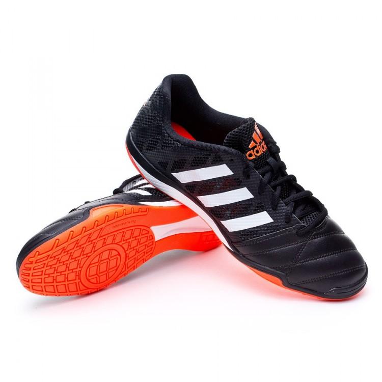 uk availability 84b54 5cf96 zapatilla-adidas-top-sala-negra-blanca-solar-red-