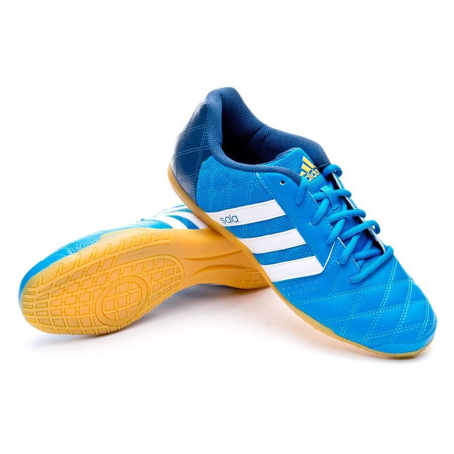 Chaussure De Futsal Adidas Super Sala Solar Blue Blanc Boutique PnItOwsj