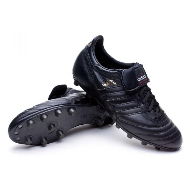 66d3e878a93a4 Zapatos de fútbol adidas Copa Mundial Blackout Negra-Solar gold ...