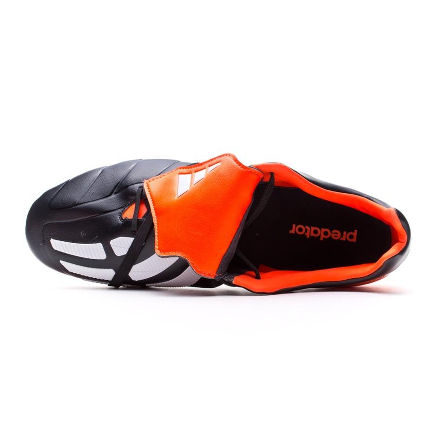 sale retailer f19dd 47c87 Zapatos de fútbol adidas Predator Mania FG Negra-Blanca-Solar red - Tienda  de fútbol Fútbol Emotion