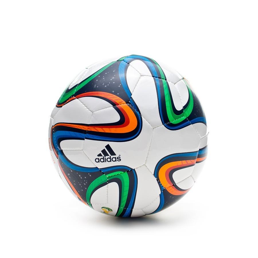 Balón adidas Brazuca Sala Blanco - Soloporteros es ahora Fútbol Emotion d52294df056f7