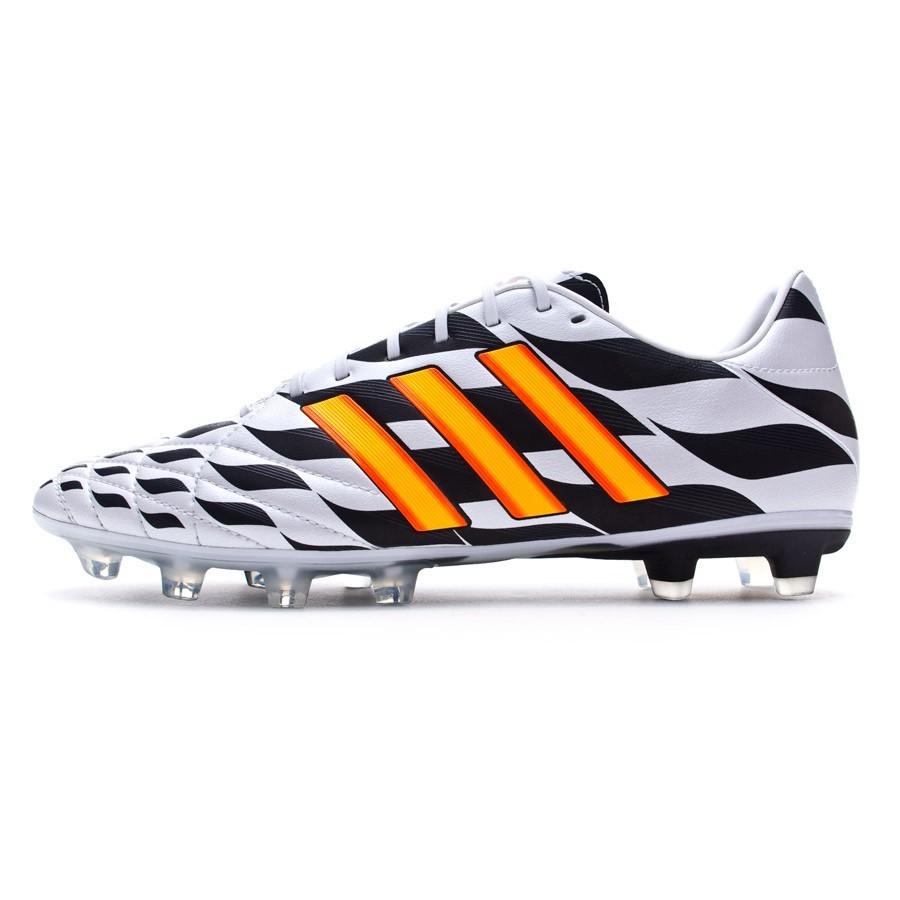 0585abcf9495e Chuteira adidas Adipure 11Pro TRX FG WC Branco-Solar gold-Preto - Loja de  futebol Fútbol Emotion