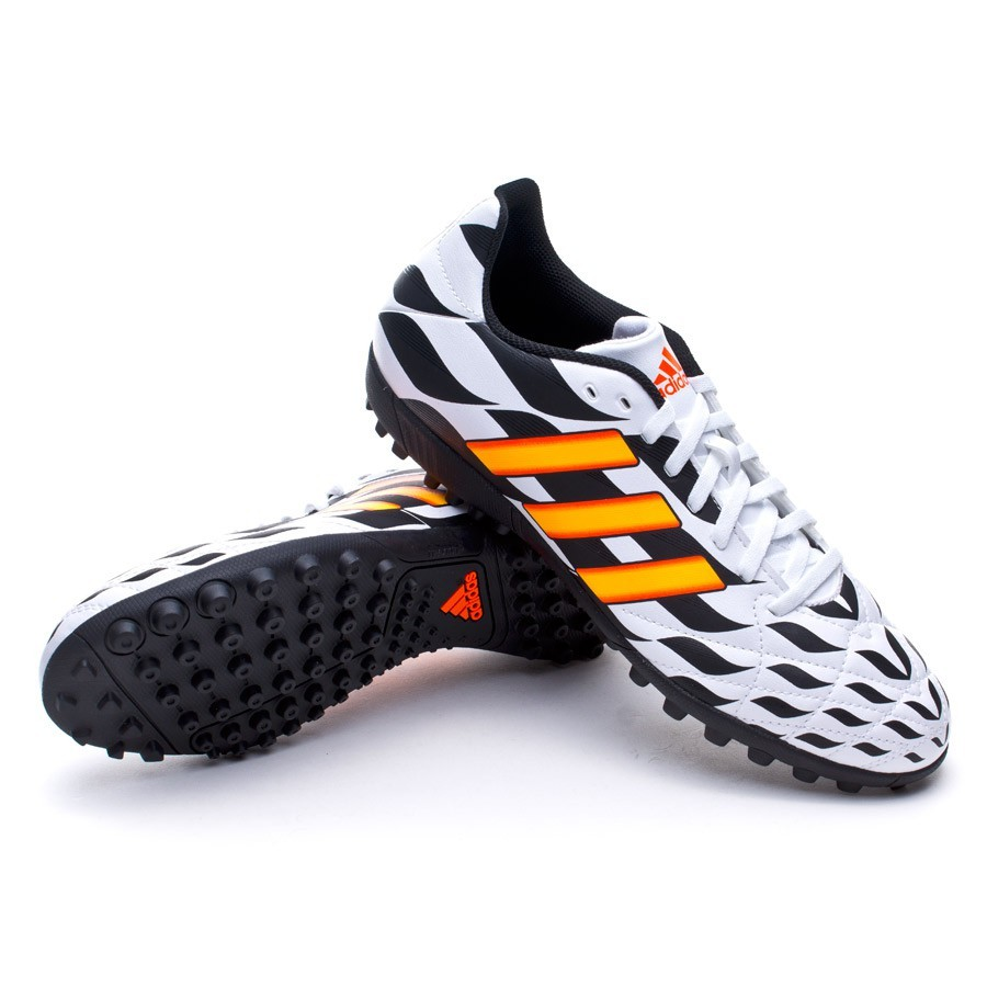 9089f5146 adidas 11Questra TRX Turf WC Boot. White-Solar gold-Black ...