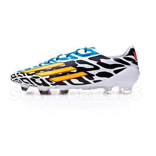 Football Boots Adidas Adizero F50 Trx Fg Messi Wc White Solar Gold Black Football Store Futbol Emotion