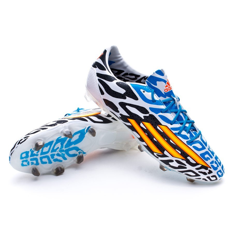 db7fd23b4 adidas F30 TRX FG Messi WC Football Boots. White-Solar gold-Black ...
