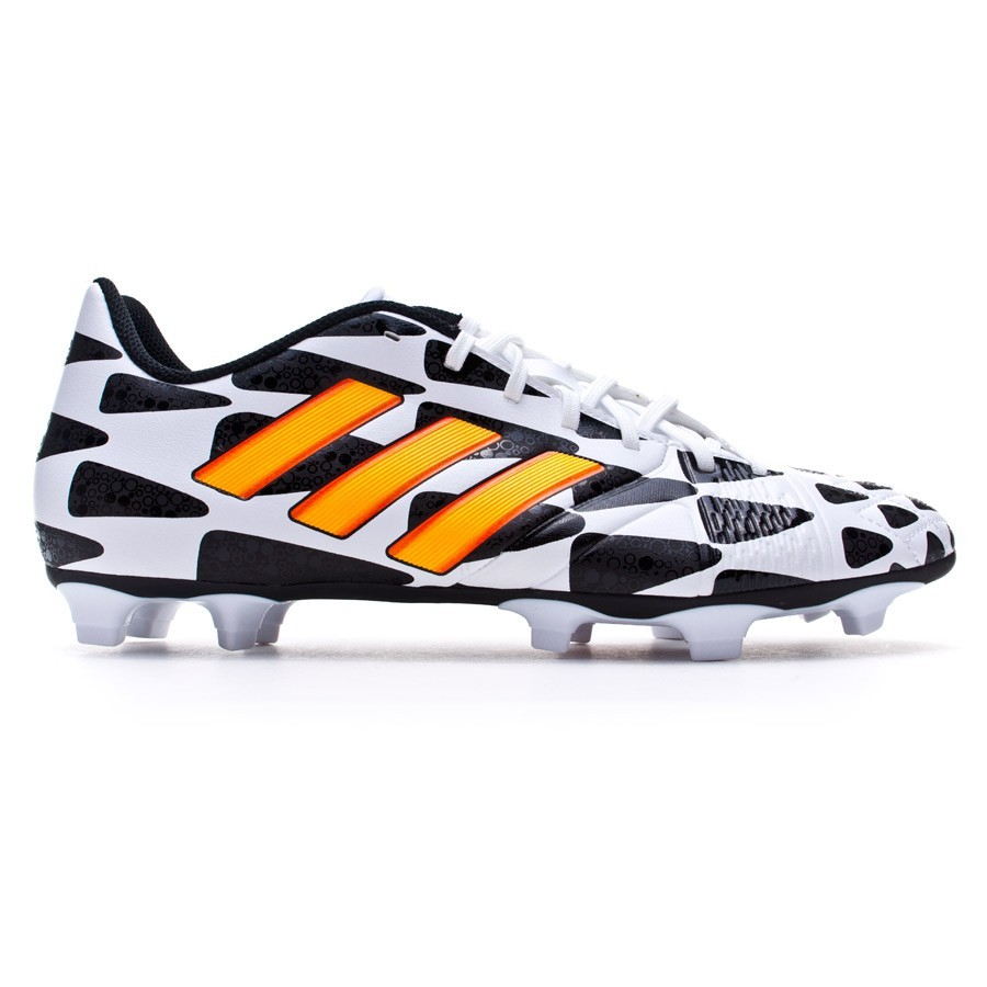 hot sale online e30aa 71a81 Chaussure de foot adidas Nitrocharge 3.0 TRX FG WC Blanc-Solar gold-Noir -  Boutique de football Fútbol Emotion