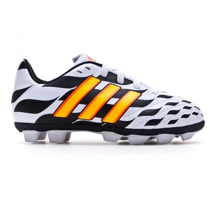 Zapatos de fútbol adidas 11Questra TRX HG WC Niño Blanca-Solar gold ... 4eac70f004434