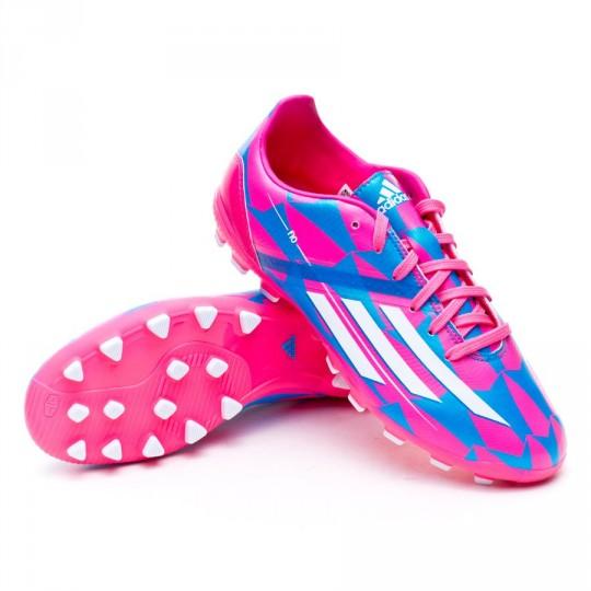 Bota  adidas Jr F10 TRX AG Solar pink-Solar blue