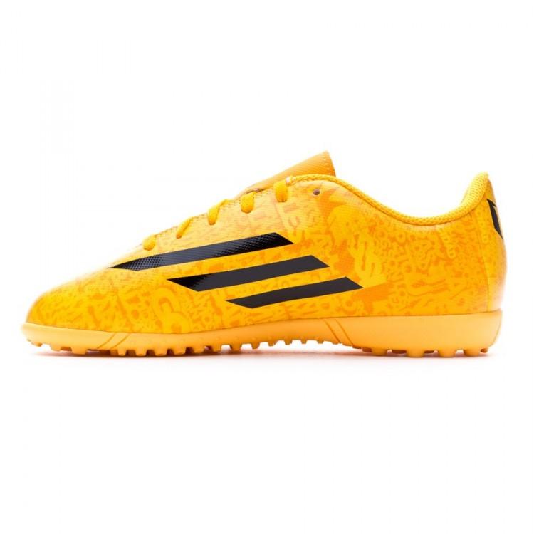 premium selection ded80 fe5f2 bota-adidas-jr-f5-trx-turf-messi-solar-