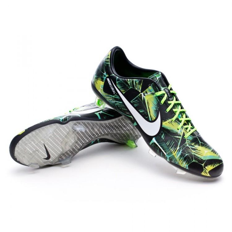 6b3538d86 Football Boots Nike Mercurial Vapor IX FG Tropical Pack Flash lime ...