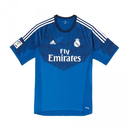 Maillot  adidas Gardien Real Madrid Lone blue-Dark indigo