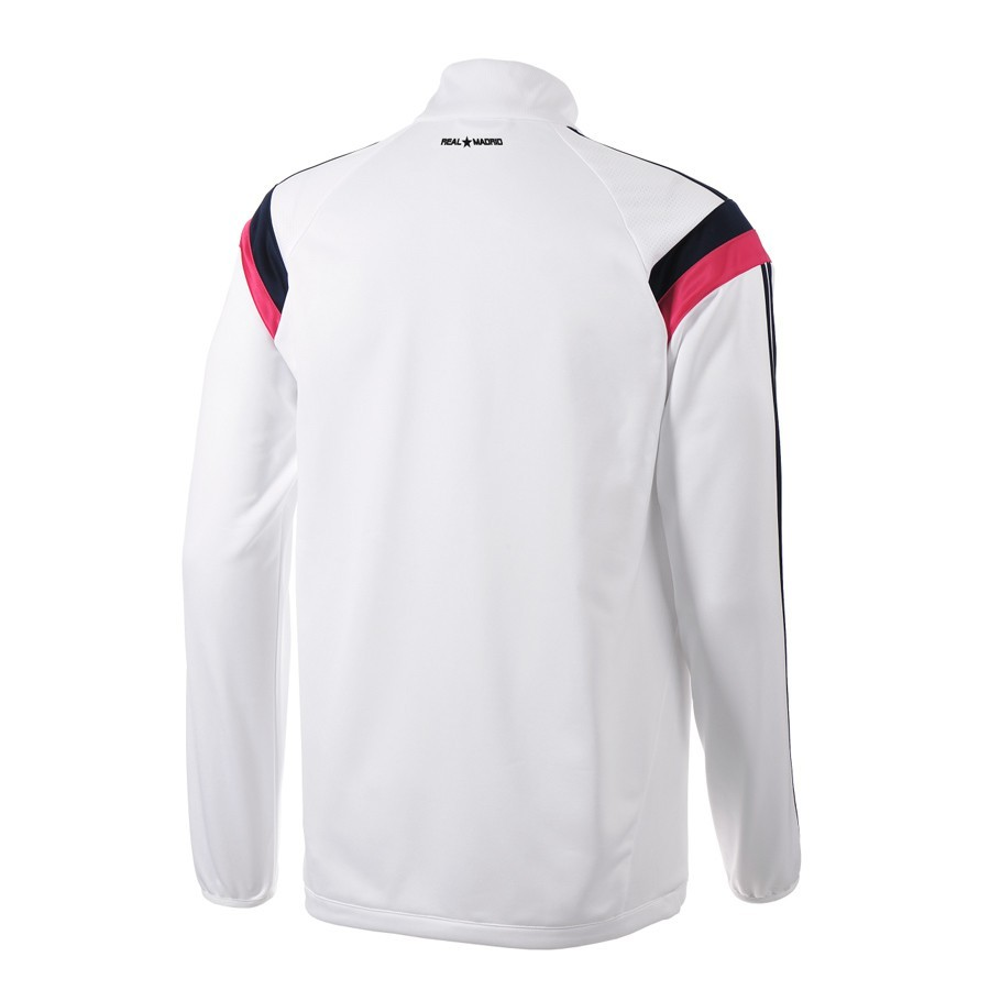 95222a0a595eb Sweatshirt adidas Real Madrid White-Bast pink - Football store Fútbol  Emotion