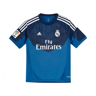 Camisola  adidas Jr Portero Real Madrid Lone blue-Dark indigo