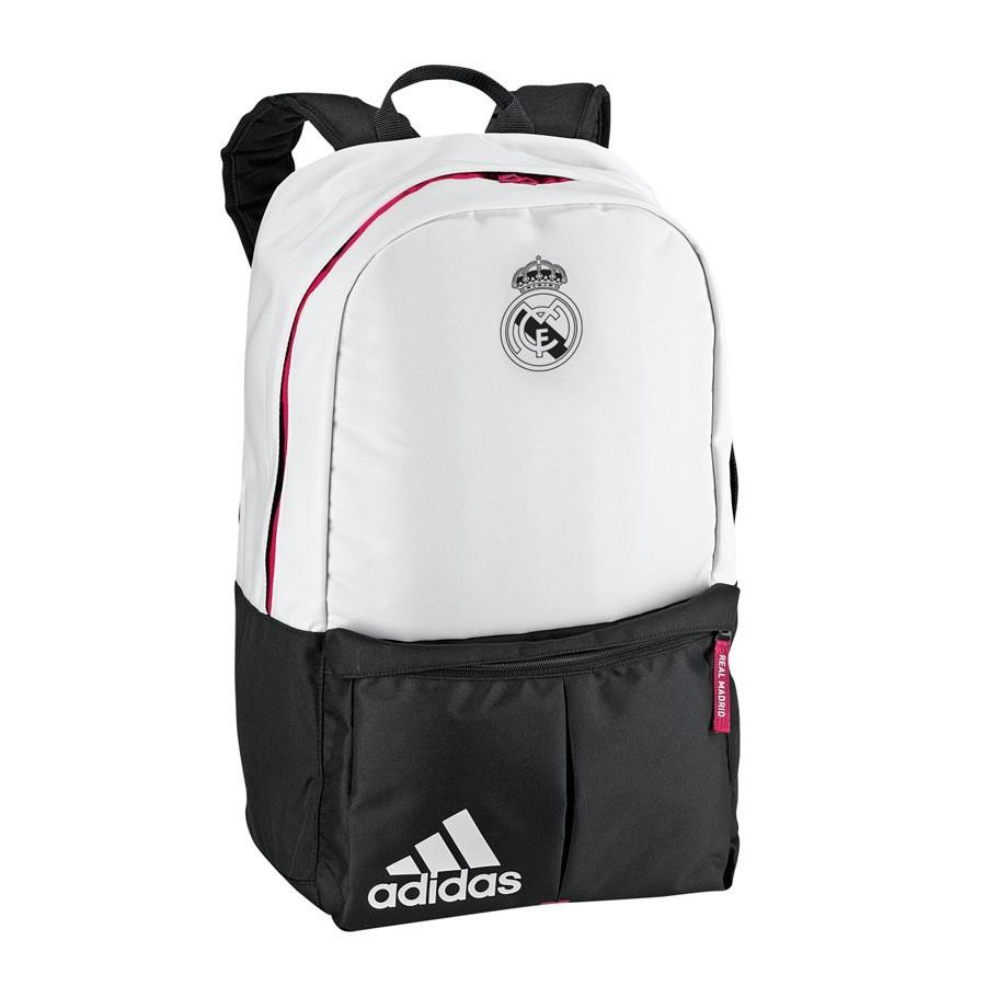 e328a86c7f5e0 Backpack adidas Real Madrid White-Blast pink - Tienda de fútbol ...