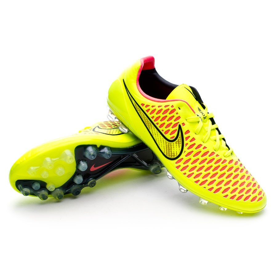 8090ff04d Football Boots Nike Magista Opus AG ACC Volt-Hyper punch - Football store  Fútbol Emotion