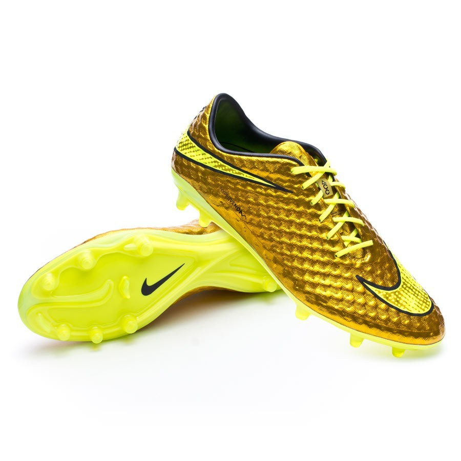 énorme réduction 9fd52 70c28 Bota Hypervenom Phantom Premium FG ACC Metallic gold