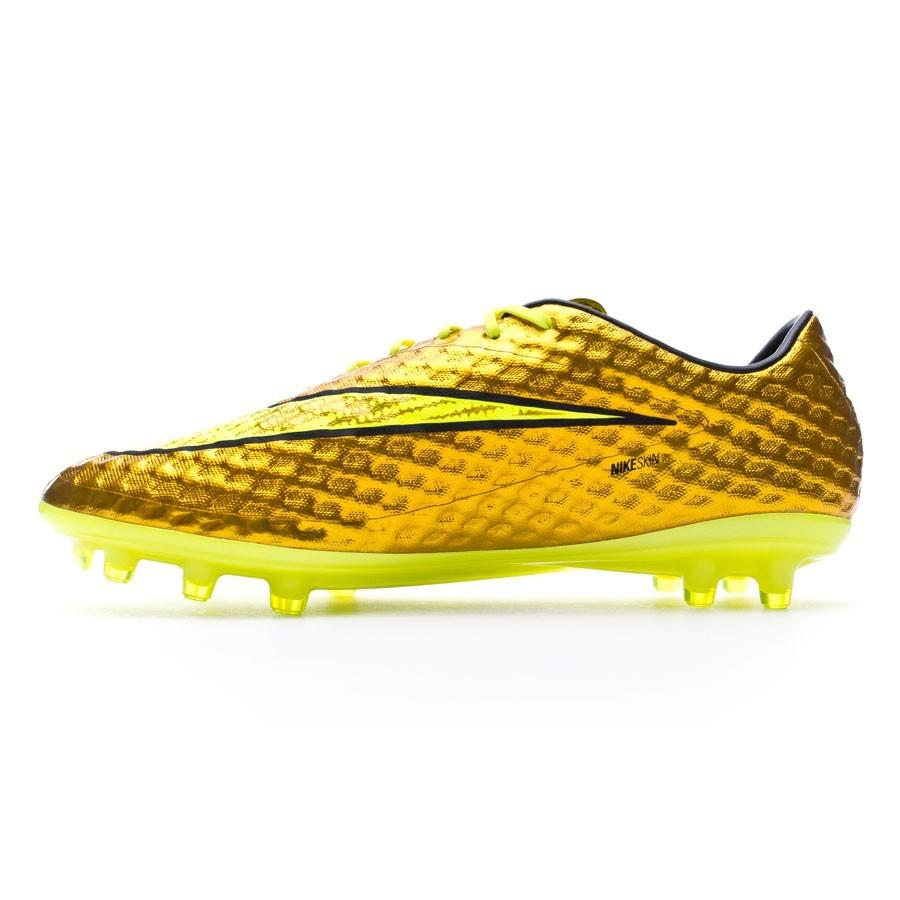 111575803a35 Football Boots Nike Hypervenom Phantom Premium FG ACC Metallic gold -  Football store Fútbol Emotion