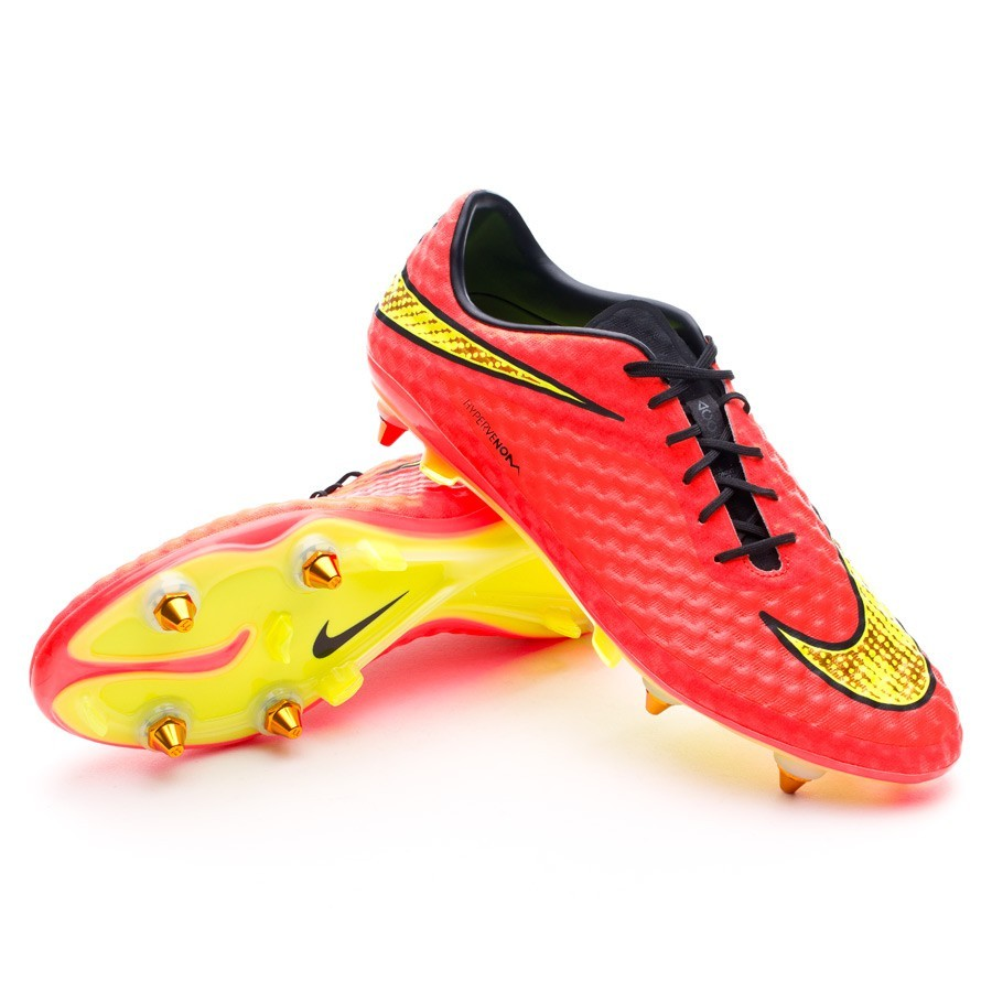 536560ffb9e5 Football Boots Nike Hypervenom Phantom SG-Pro ACC Bright crimson-Volt -  Tienda de fútbol Fútbol Emotion