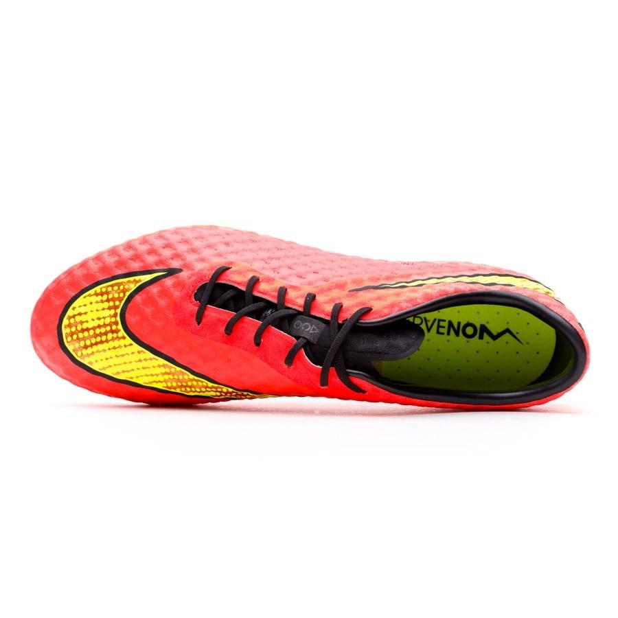 281e514666cae Bota de fútbol Nike Hypervenom Phantom AG ACC Bright crimson-Volt - Tienda  de fútbol Fútbol Emotion