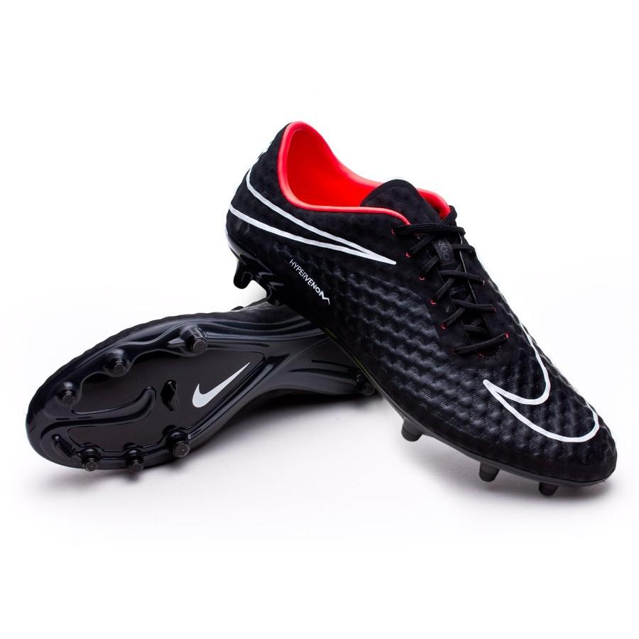 aa7852c6893ff Chuteira Nike Hypervenom Phantom FG ACC Preto-Hyper punch - Loja de futebol  Fútbol Emotion