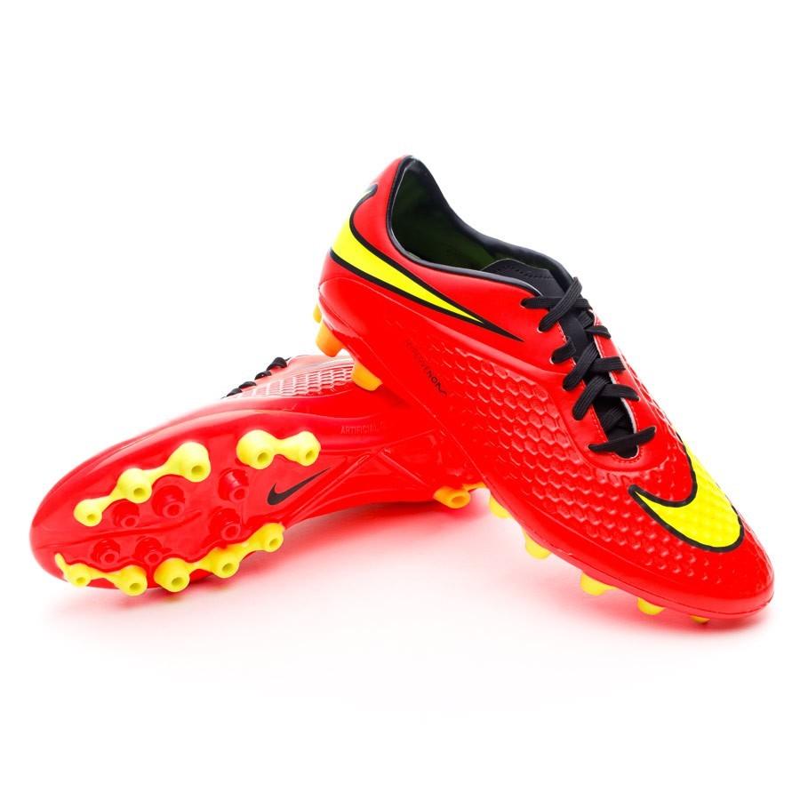 outlet store 824a0 063d0 Nike Hypervenom Phelon AG Boot. Bright crimson-Volt ...