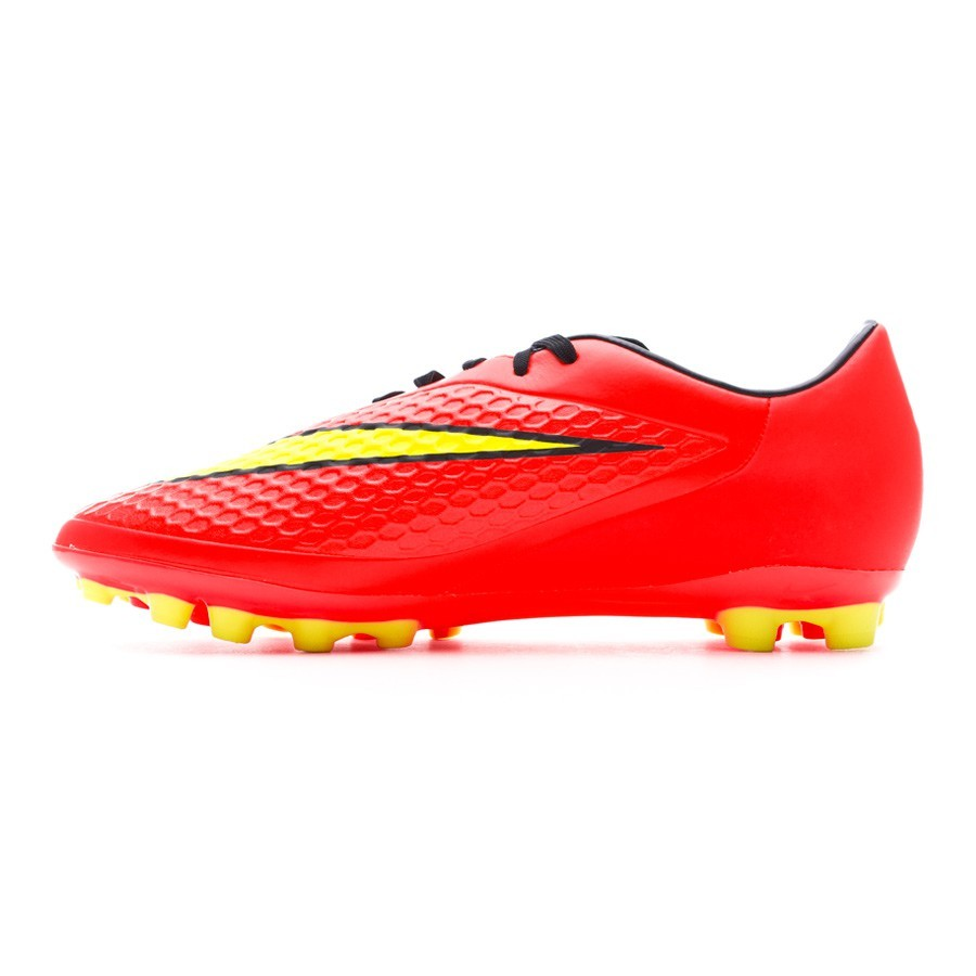 Boot Nike Hypervenom Phelon AG Bright crimson-Volt - Football store Fútbol  Emotion eb4b5cea4f7a2