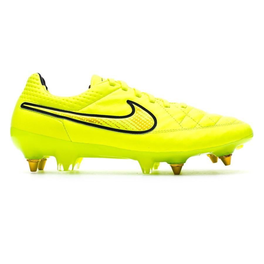 sports shoes e61e3 b000d Football Boots Nike Tiempo Legend V SG-Pro ACC Volt-Hyper punch - Tienda de  fútbol Fútbol Emotion