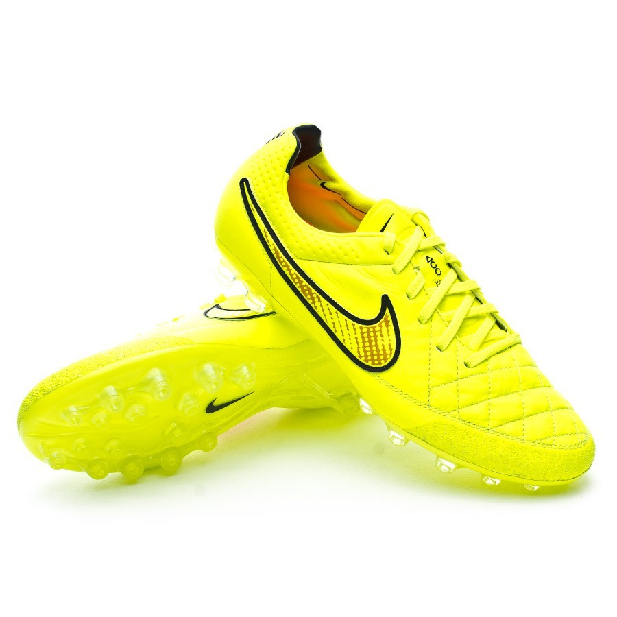 on sale c7588 674a3 Football Boots Nike Tiempo Legend V AG ACC Volt-Hyper punch - Tienda de  fútbol Fútbol Emotion