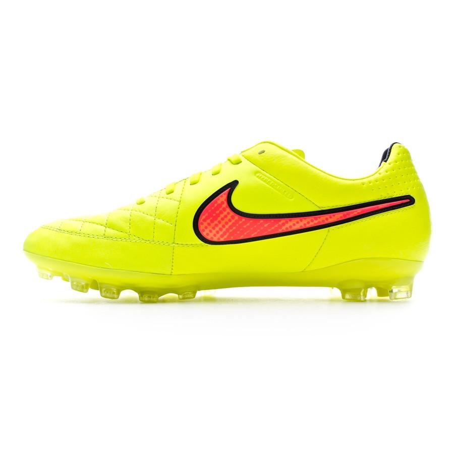 c620b0b6ef2 Chaussure de foot Nike Tiempo Legacy AG Volt-Hyper punch - Boutique de  football Fútbol Emotion
