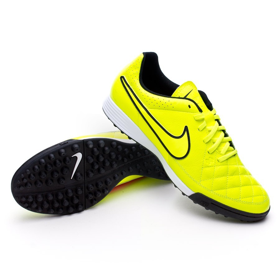 56922e2c446d7 Football Boots Nike Tiempo Genio Turf Volt-Hyper punch - Football ...